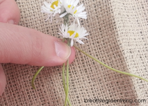 how to make daisy chain crowns