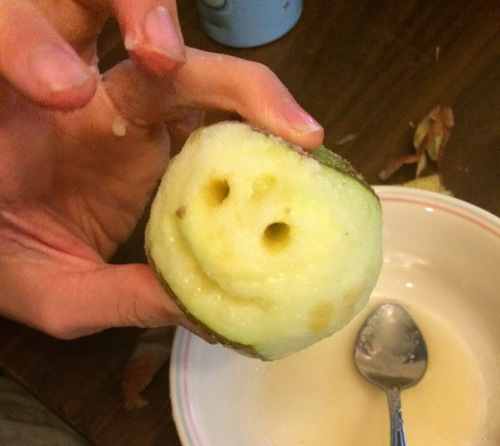 preserving shrunken apple head