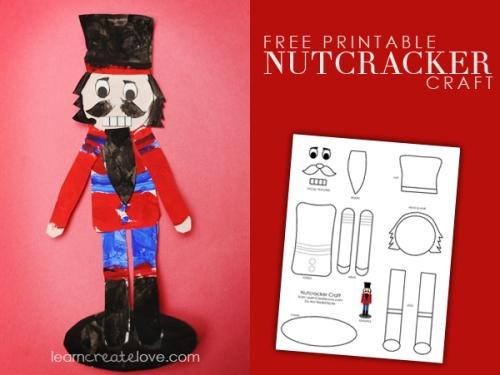 nutcracker printable